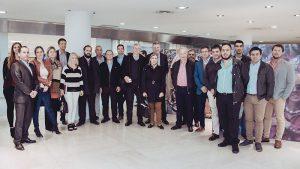 Productores de Resistencia y Bahía Blanca de visita en Casa Central