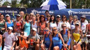 San Cristóbal apoya al Tenis Femenino